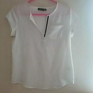 Apt.9 white blouse size small